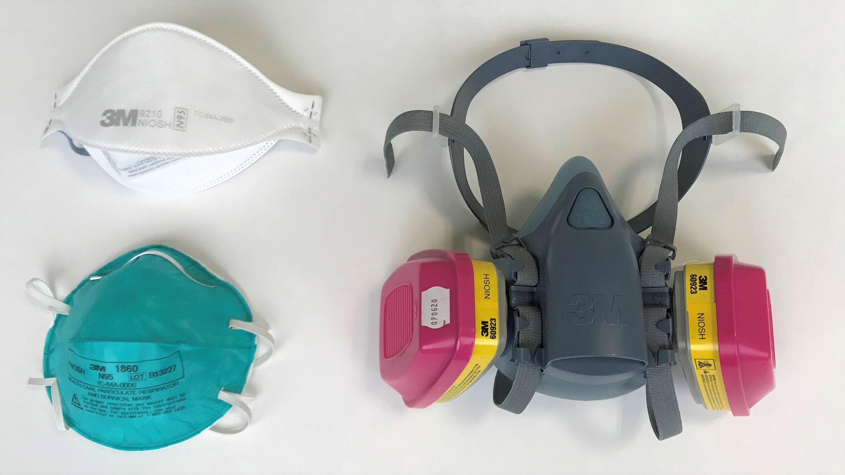 examples of respirators