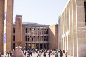 UW Seattle Campus Red Square